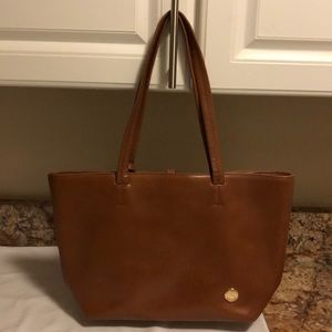 Vince Camuto tan leather tote